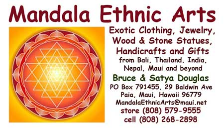 Mandala Homes Business Card